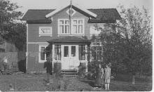 vårt hus för 100 år sedan