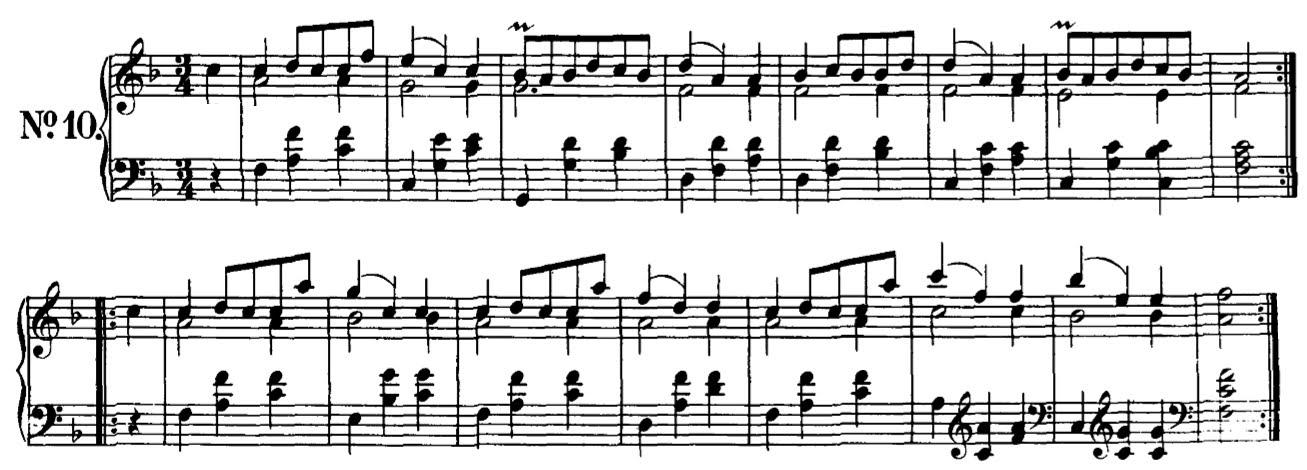 Hearing Schubert D779n13 Schuberts Soprano Alto Pairs