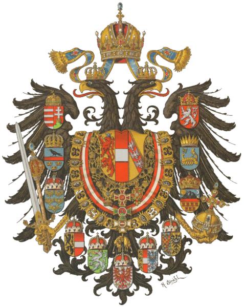 Escudo de Armas del Imperio Austro-Húngaro