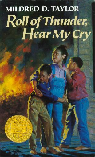 Book Covering Roll ~ Book covers roll of thunder hear my cry by mildred d taylor