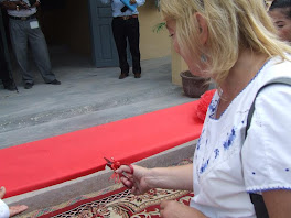 Lisa McCoy Cuts Ribbon