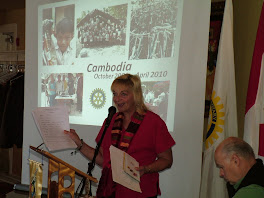 Lisa Speaks to Rotary Club of Gravenhurst