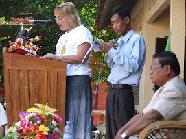 Lisa &amp; Om Chamnap Give Speech
