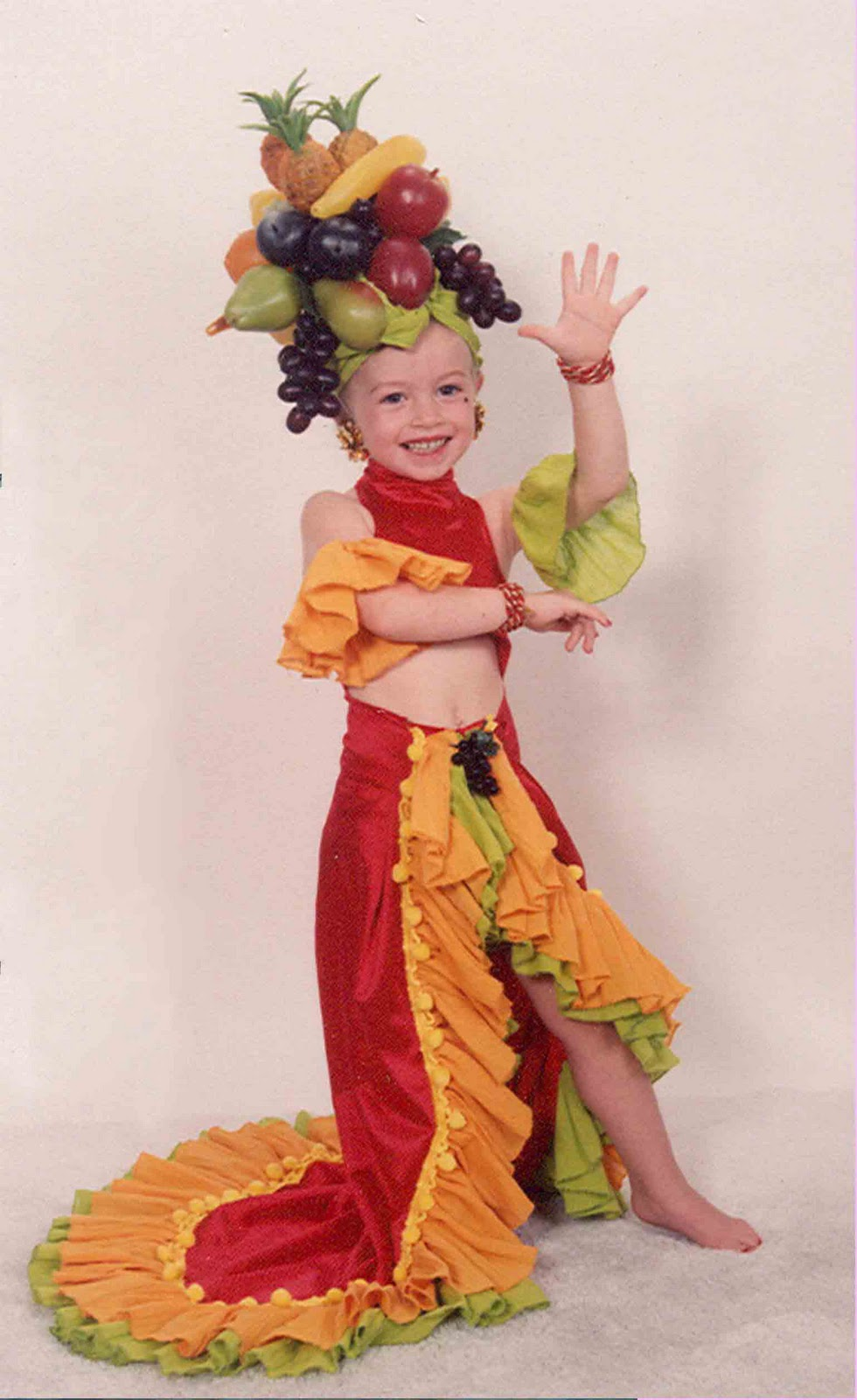 Chiquita And Banana Mommy Baby Costume. 762 x 1143. This Was Another Stars Of The Silver Screen Dress And I Made Her Wear It In  sc 1 th 287 & Child Chiquita Banana Costume Chiquita Banana - McEwen And Baby ...