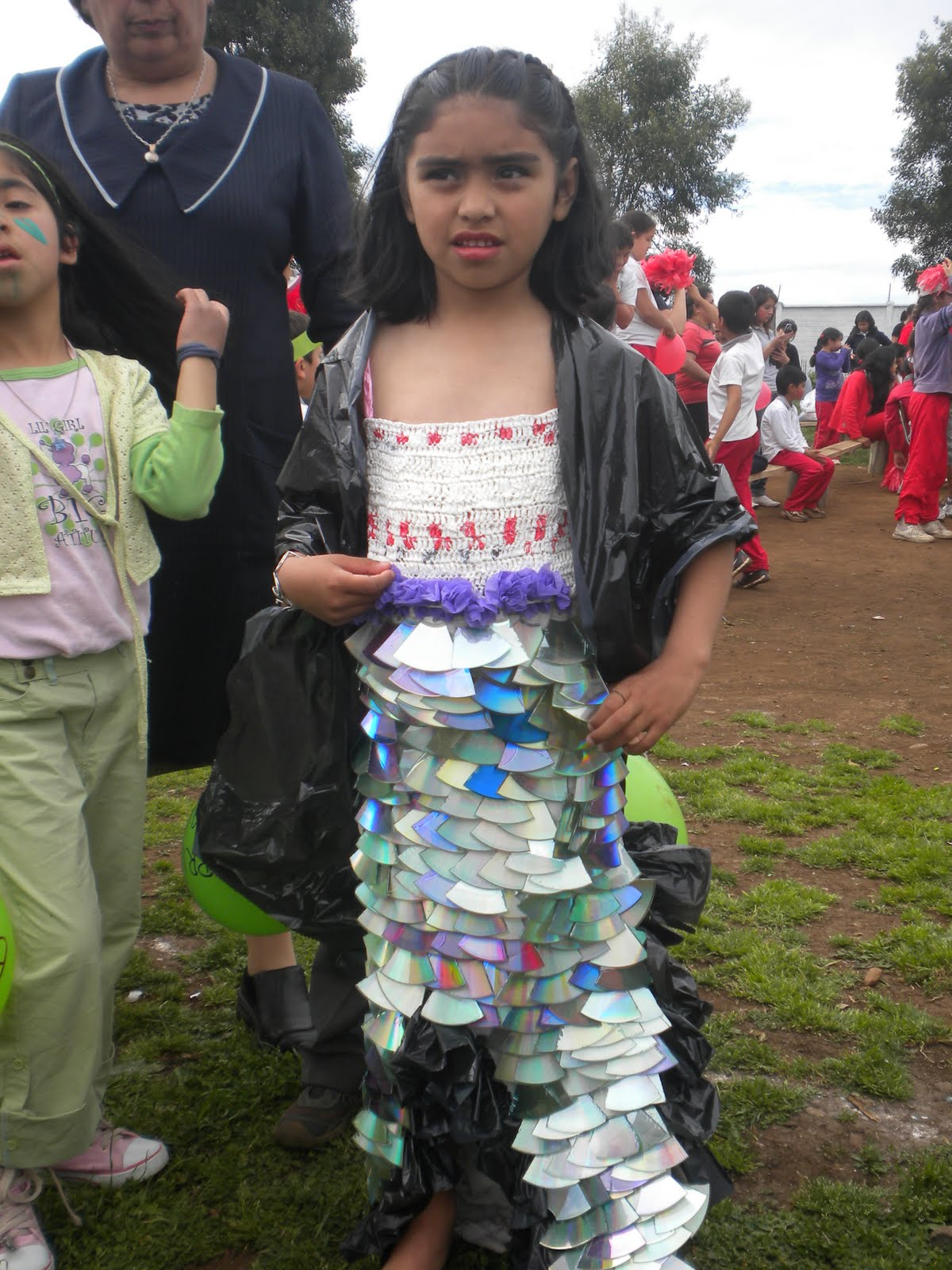 trajes ecologicos