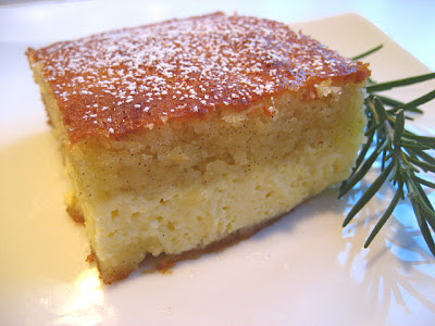 Ricotta Cake w/ Rosemary: Cheating