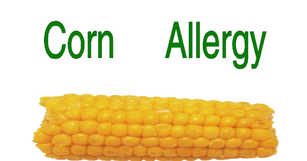 Free Posters and Signs: Corn Allergy