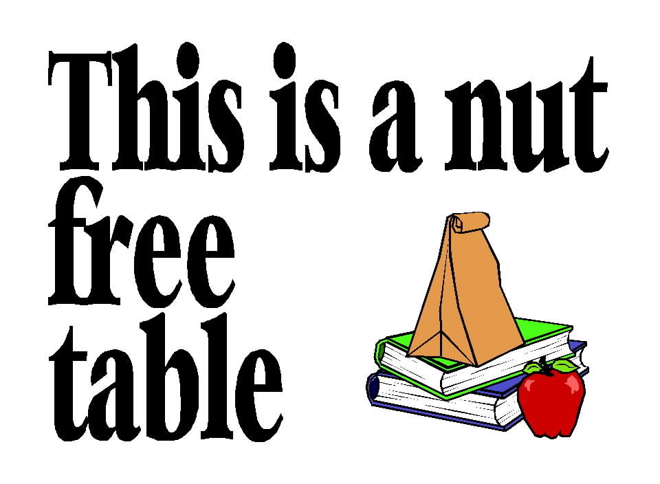 Nut Free Table