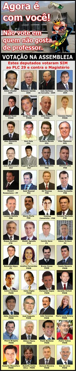 Inimigos da Educação em São Paulo