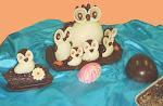 Corujas em Chocolate