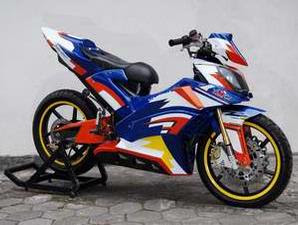Modifikasi Motor Yamaha Mx 135