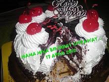 Mama Mika Birthday GiveAway