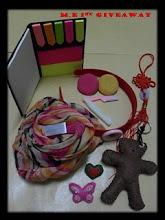 m.e 1st Giveaway
