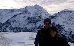 on top of Hannegan Peak, North Cascades