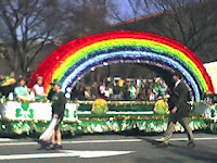 St. Patrick's Day parade in Washington, DC