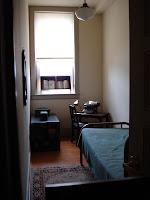 Langston Hughes' dorm room, Thurgood Marshall Center in Shaw