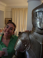 Me, with a Knight of Malta