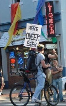 We're Here!  We're Queer!  We Want Beer!