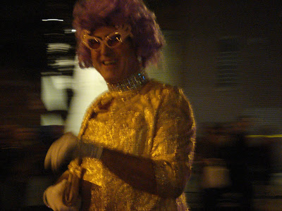 High Heel Races: Purple Wig
