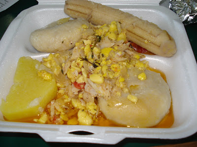 Sweet Mango Cafe Ackee and Saltfish