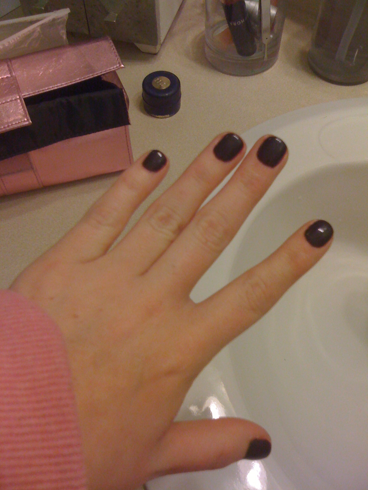 !: New Gel Nail Poish Manicure! - gel nails vs solar nails photos