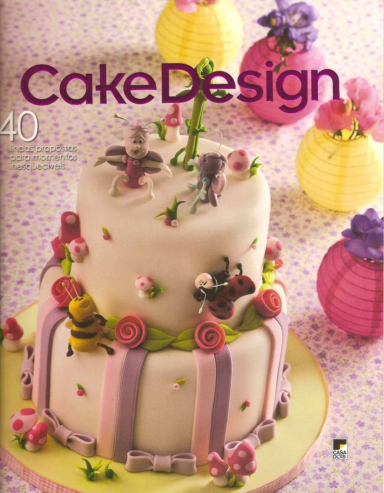 Rivista Cake Design Wedding : Lara Stolf Arte em Acucar: Revista Cake Design!
