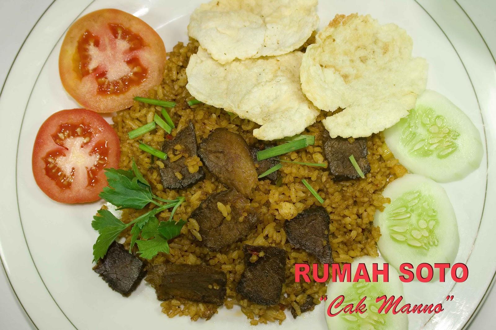 Nasi Goreng Ayam Kampung dan Daging Sapi