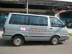 Our New Van donated by Tan Chong Motor Holdings