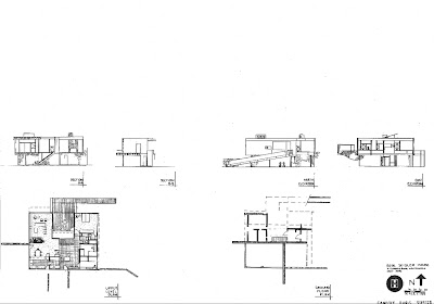 Candice Burg  August The Rose Seidler House  plans  sections  elevations  D images