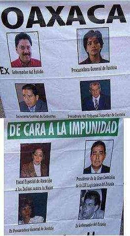 IMPUNIDAD EN OAXACA...atte PRIAN