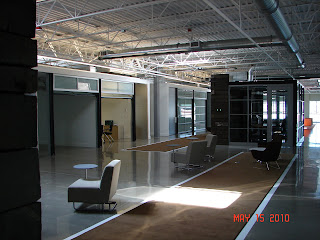 McKinstry Innovation Center open collaborative area