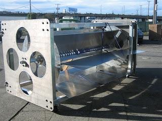 Hydrovolts Flipwing Turbine demonstration unit under construction