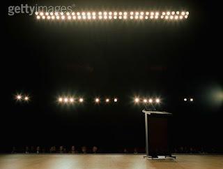 Empty podiumtitl