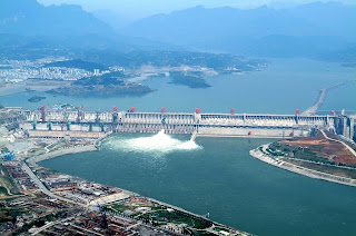 China's Three Gorges Dam, largest hydropower facility in the world