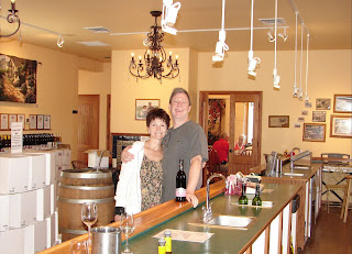 The Bonair Winery tasting room