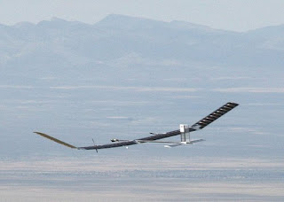 Zephyr on a test flight in 2008