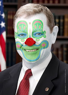 Clown Senator James Inhofe