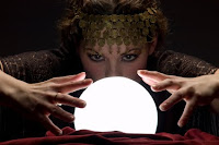 Crystal ball forune telling