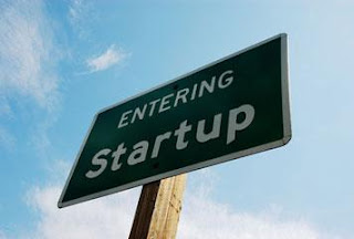 Sign: entering startup
