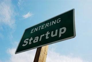 Sign: entering startup