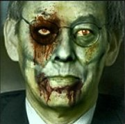 Energy Secretary Steven Chu as a vampire