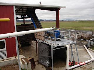 Anaerobic digester separator