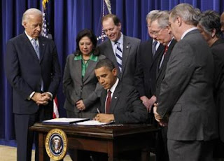 President Obama signs tax bill