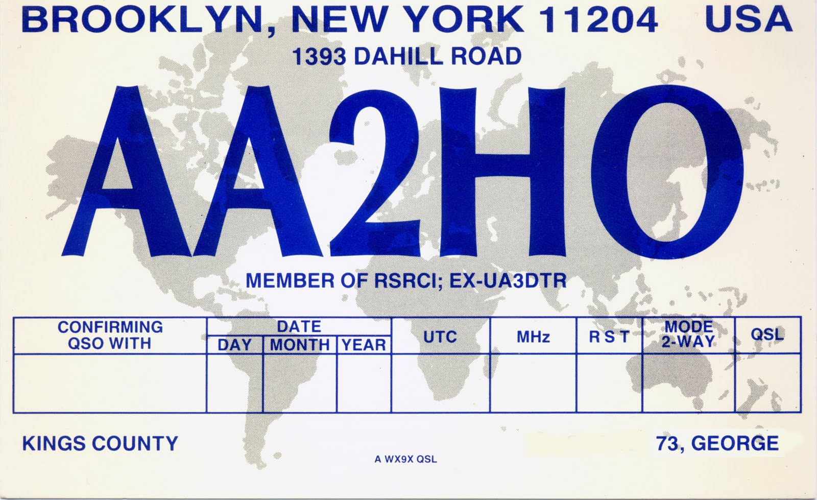 Pretty Qsl Card Template Images Gallery >> Back 2 Jpg. Microsoft ...