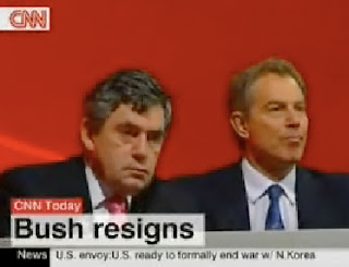 cnn accidentally airs 'bush resigns'