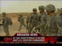 petraeus chosen as new centcom commander