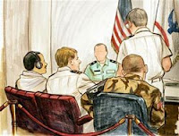 driving bin laden: not guilty plea in war crimes tribunal