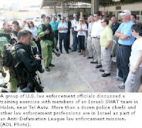 coinciding with 9/11, US law enforcement officers learn counterterrorism strategies from israeli counterparts