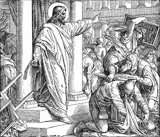 we must throw the moneychangers out of the temple