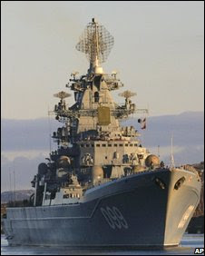 russian warships set sail for manoeuvres near US waters